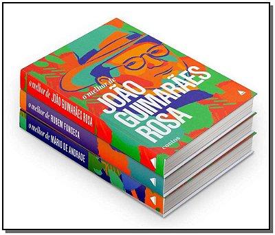 Kit - Contos Literários - João Guimarães; Rubem Fonseca; Mário de Andrade