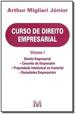 CURSO DE DIREITO EMPRESARIAL - VOL. I - DRIEITO EMPRESARIAL - CONCEITO DE E