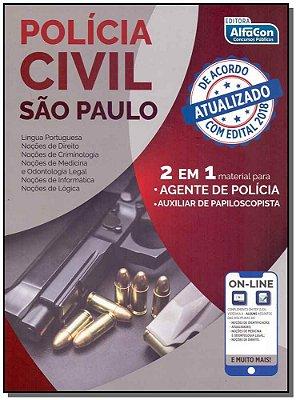Polícia Civil - São Paulo 2 em 1 Agente de Polícia