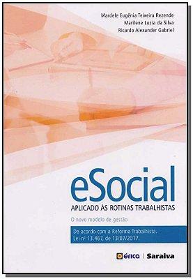 E-social Aplicado às Rotinas Trabalhistas