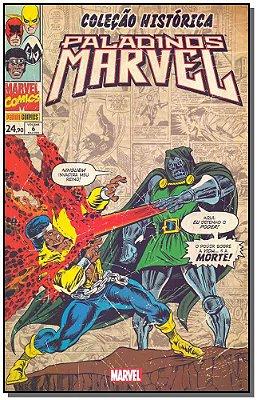 Coleção Histórica: Paladinos Marvel - Vol. 06