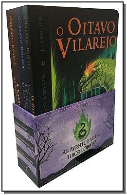 Aventuras de Tibor Lobato, As - 3 Volumes