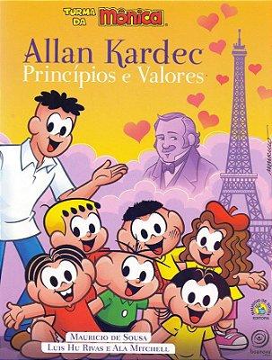 Allan Kardec Principios e Valores - Turma da Mônica