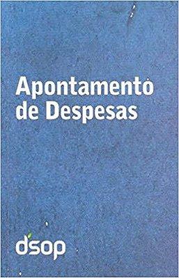 Apontamento Diario de Despesas Azul