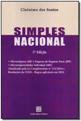 Simples Nacional - 05Ed/18
