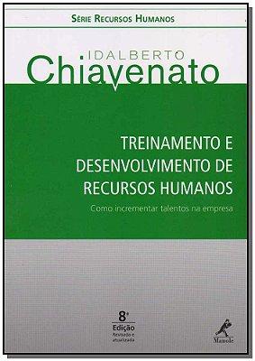 Treinamento e Desenvolvimento de Recursos Humanos - 08ED/16
