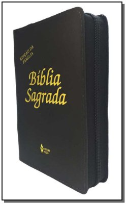 Biblia Sagrada - Ed. Familia Media Ziper