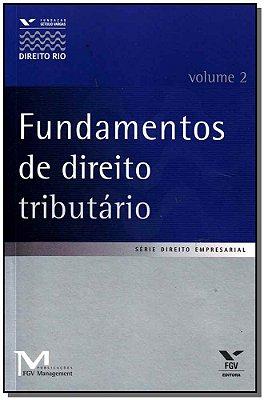 FUNDAMENTOS DE DIREITO TRIBUTARIO - VOL. 2