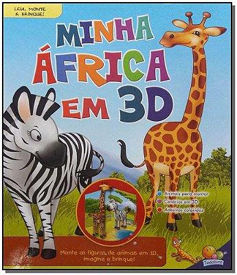 Leia Monte e Brinque! Minha Africa em 3D