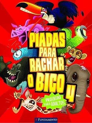 PIADAS PARA RACHAR O BICO 4 - (VERMELHO)