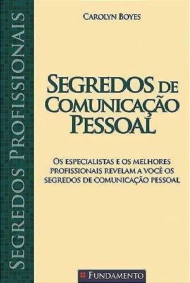 SEGREDOS DE COMUNICACAO PESSOAL