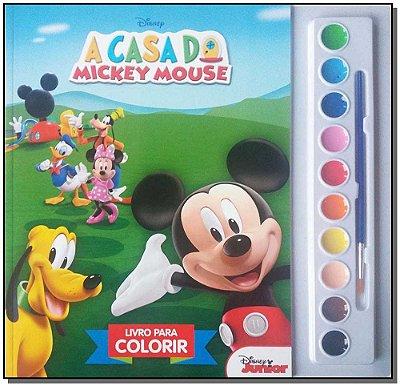 Disney - Frozen Colorindo Com Adesivos