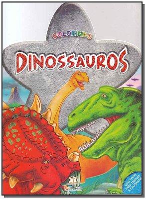 Colorindo - Dinossauros