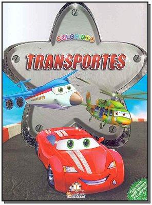 Colorindo - Transportes