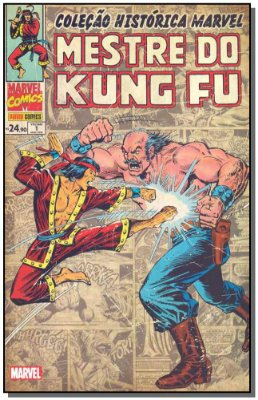 Col. Histórica Marvel - Mestre do Kung Fu - Vol.01