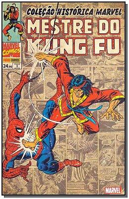 Colecao Historica Marvel: Mestre do Kung Fu Vol.02