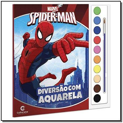 Spider-man - Diversão Com Aquarela