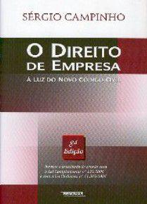 DIREITO DE EMPRESA, O - A LUZ DO NOVO CODIGO CIVIL