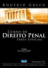 CURSO DE DIREITO PENAL - PARTE ESPECIAL - VOL. III