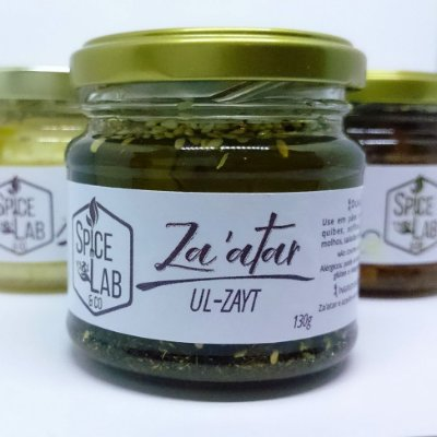 130g Za'atar Ul-zayt (Za'atar no azeite)