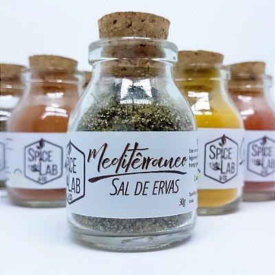 Sal Mediterrâneo - Sal de Ervas Orgânico 30g | 60g