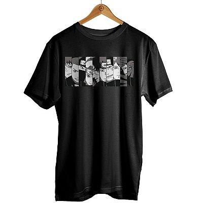 Camiseta Naruto - Personagens