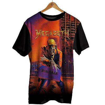 Camiseta Megadeth - For Sale
