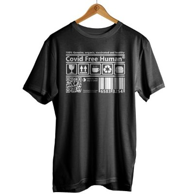 Camiseta Covid Free Human