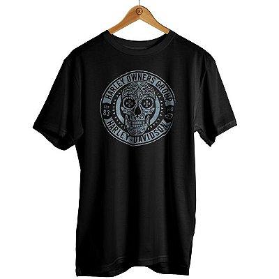 Camiseta Harley - Caveira