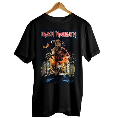 Camiseta Iron Maiden - Legacy of the Beast World Tour