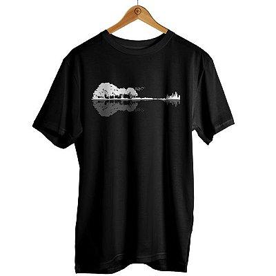 Camiseta Guitarra Ecológica - Violão
