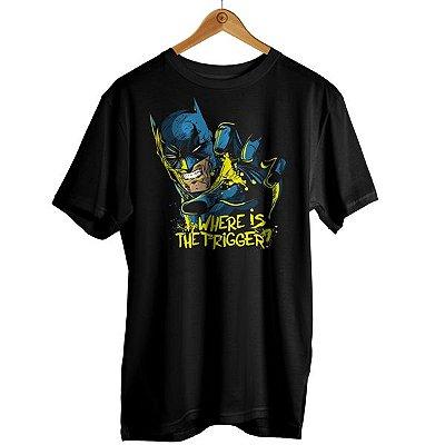 Camiseta Batman - Where is The Trigger