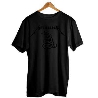 Camiseta Metallica - Cobra