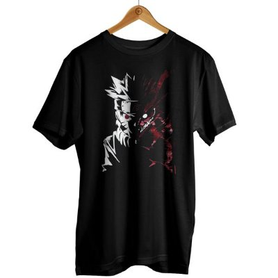 Camiseta Naruto - 2 Faces