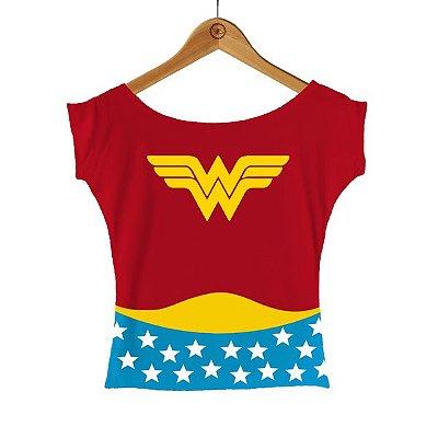 Camiseta Mulher Maravilha - Uniforme