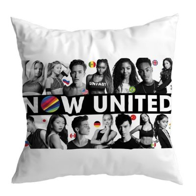 Almofada Now United - Banda