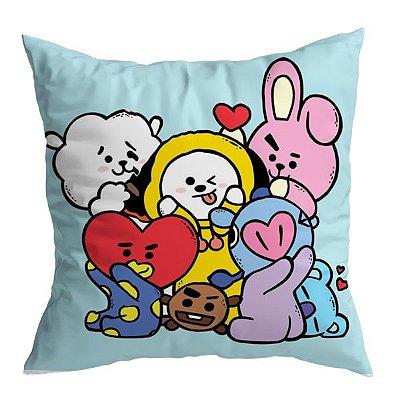 Almofada BTS - Mascotes