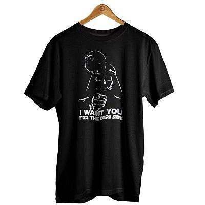 Camiseta Star Wars - Darth I Want You
