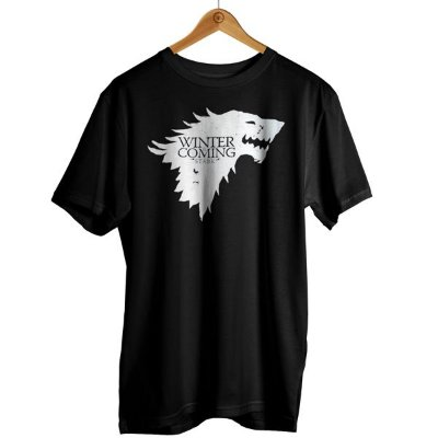 Camiseta Game of Thrones - Winter is Coming  Stark