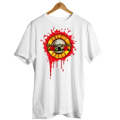 Camiseta Guns N' Roses Sangue