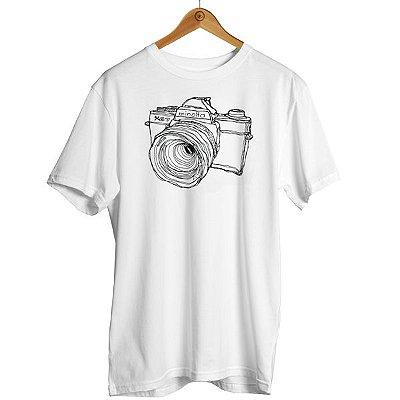 Camiseta Câmera