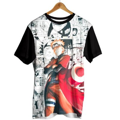 Camiseta Naruto - Uzumaki Shippuden