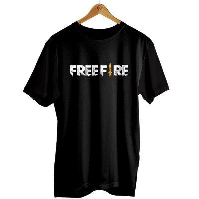 Camiseta Freefire - Logo