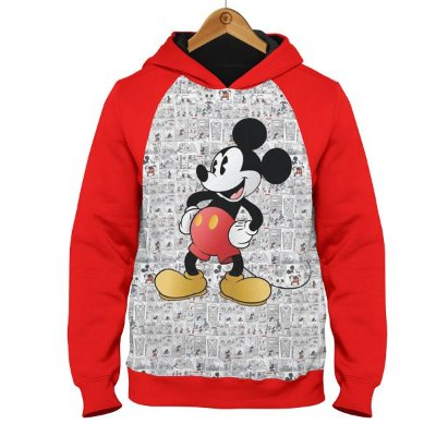 Moletom Mickey Gibi - Disney