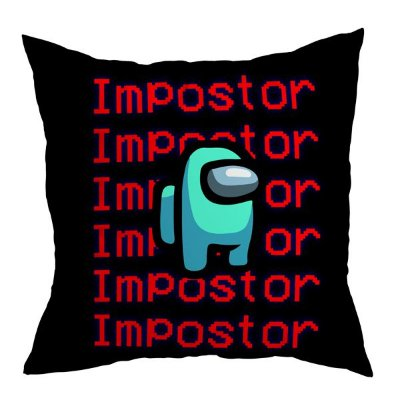 Almofada Among Us - Impostor