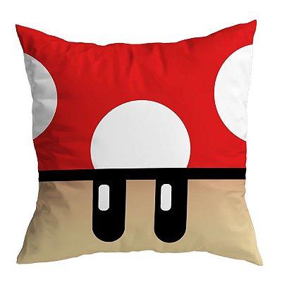 Almofada Mario - Cogumelo Vermelho