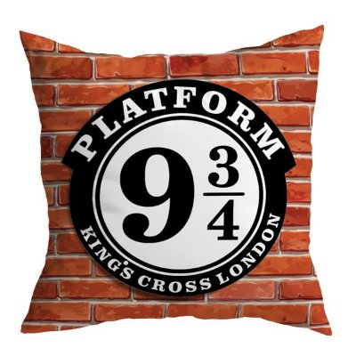 Almofada Harry Potter - Plataforma 9 ¾
