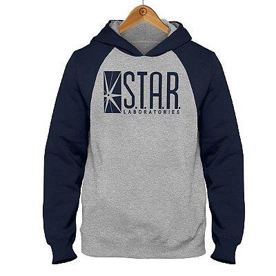 Moletom Raglan Flash - Laboratórios STAR