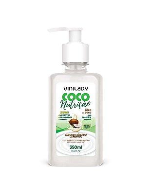 Sabonete Líquido Coco Nutrição - Óleo de Coco com Queratina Vegetal 350ml