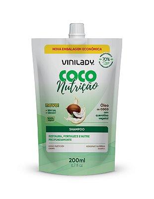 Sachê Shampoo Coco Nutrição - Óleo de Coco com Queratina Vegetal 200ml
